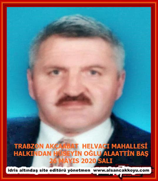 Trabzon Akçaabat helvacı mah halkından